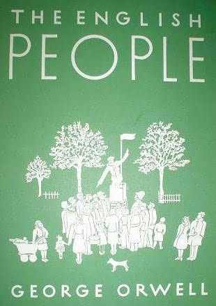 book cover of English People