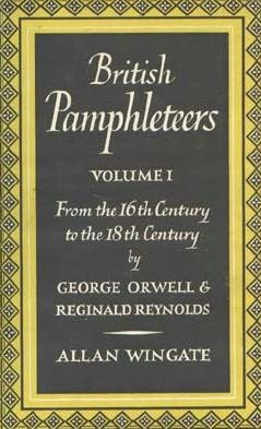 book cover of British Pamphleteers