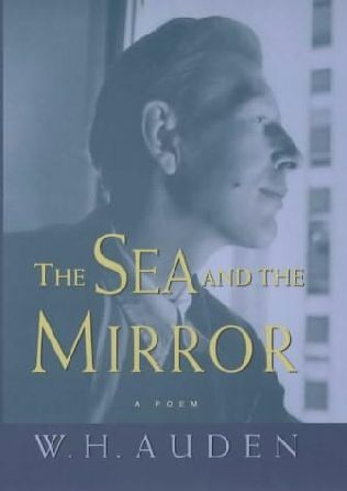 book cover of The Sea and the Mirror