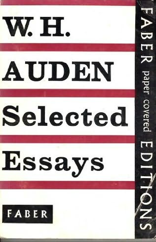book cover of Selected Essays