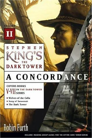 book cover of Stephen King\'s the Dark Tower: A Concordance, Volume II
