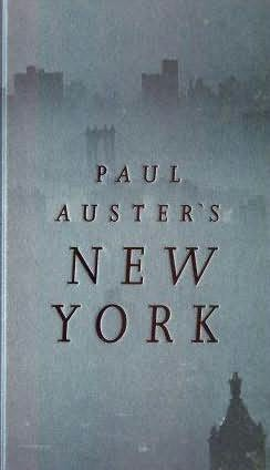book cover of Paul Auster\'s New York
