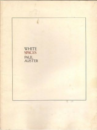 book cover of White Spaces