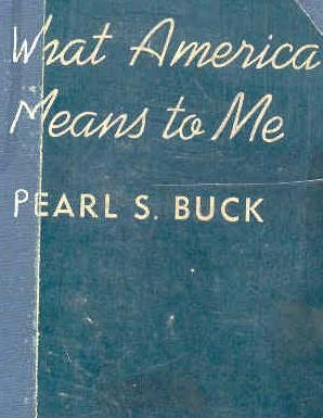 book cover of What America Means to Me