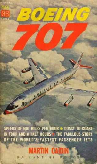 book cover of Boeing 707