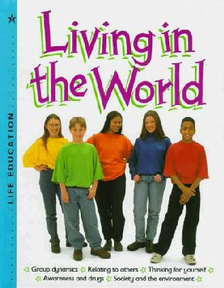 book cover of Living in the World