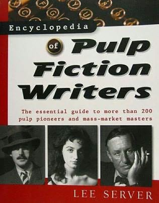 book cover of Encyclopedia of Pulp Fiction Writers