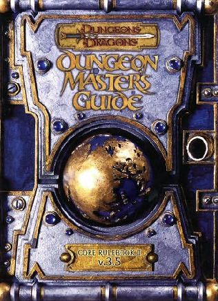 book cover of Dungeon and Dragons Revised Dungeon Master\'s Guide V3.5