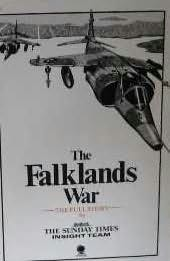 book cover of The Falklands War