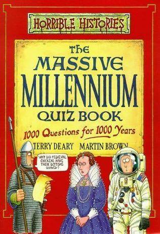 book cover of The Massive Millennium Quiz Book