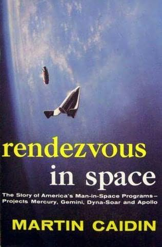 book cover of Rendezvous in space
