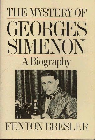 book cover of The Mystery of Georges Simenon