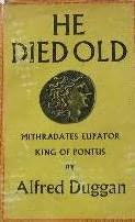 book cover of He Died Old
