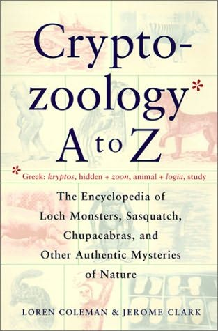 book cover of Cryptozoology A to Z