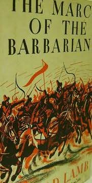 book cover of The March Of The Barbarians