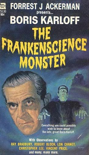 book cover of Boris Karloff