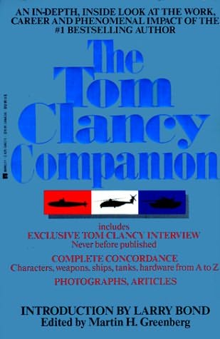 book cover of Tom Clancy Companion