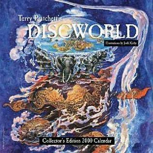 book cover of Discworld - Mini Calendar 2000