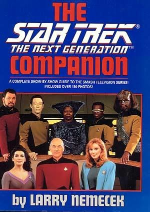 book cover of Star Trek: The Next Generation