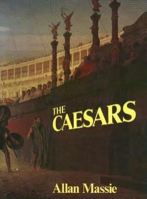 book cover of The Caesars