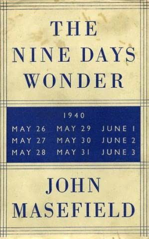 book cover of The Nine Days Wonder