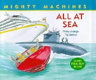 book cover of All at Sea