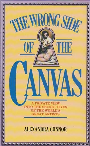 book cover of The Wrong Side of the Canvas