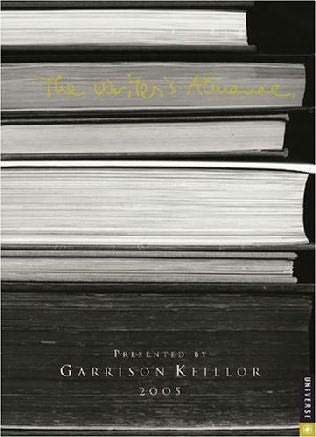 book cover of The Writer\'s Almanac
