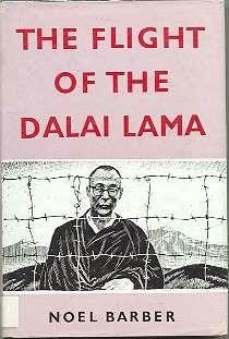 book cover of The Flight of the Dalai Lama