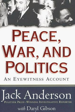 book cover of Peace, War, and Politics