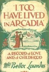 book cover of I, Too, Have Lived in Arcadia