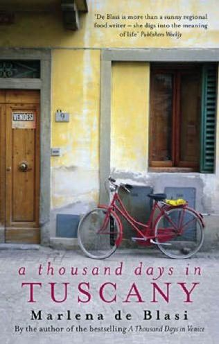 book cover of A Thousand Days in Tuscany