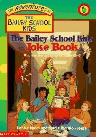 book cover of Bailey School Kids Joke Book