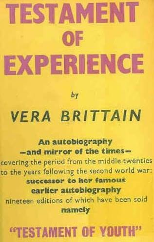 book cover of Testament of Experience