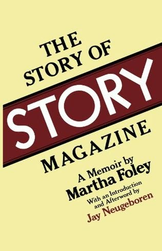 book cover of The Story of Story Magazine
