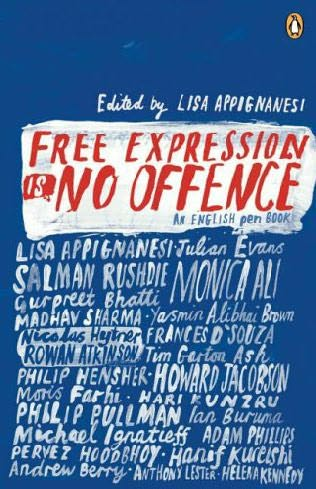 book cover of Free Expression Is No Offence