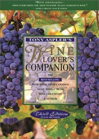 book cover of Tony Aspler\'s Wine lover\'s companion