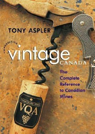 book cover of Tony Aspler\'s Vintage Canada
