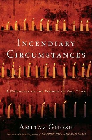 book cover of Incendiary Circumstances