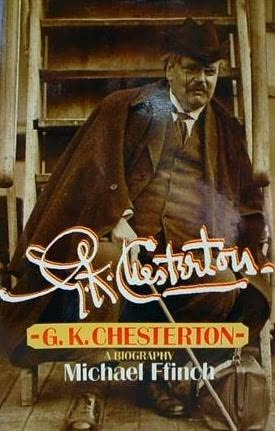 book cover of G.K. Chesterton: A Biography