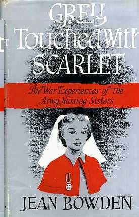 book cover of Grey Touched with Scarlet