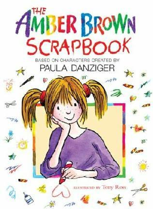 book cover of Amber Brown Scrap Book