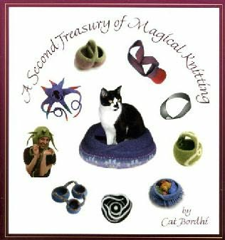 book cover of A Second Treasury of Magical Knitting