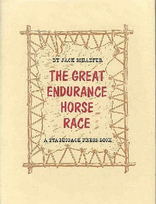 book cover of The Great Endurance Horse Race