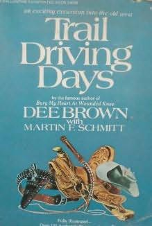 book cover of Trail Driving Days