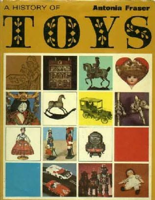 book cover of History of Toys