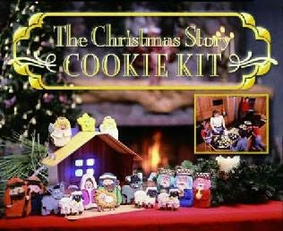 book cover of The Christmas Story Cookie Kit