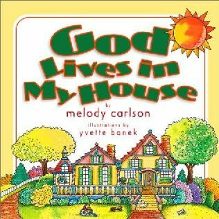 book cover of God Lives in My House
