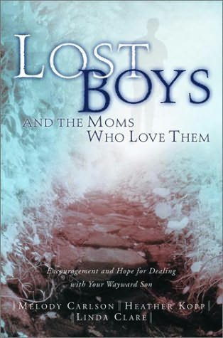 book cover of Lost Boys and the Moms Who Love Them