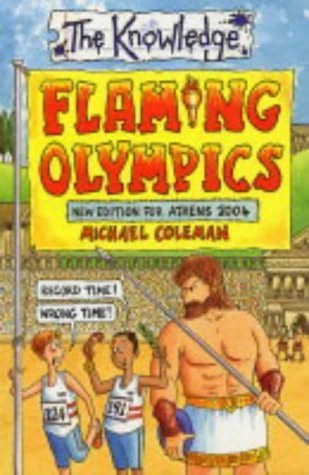 book cover of Flaming Olympics 2004